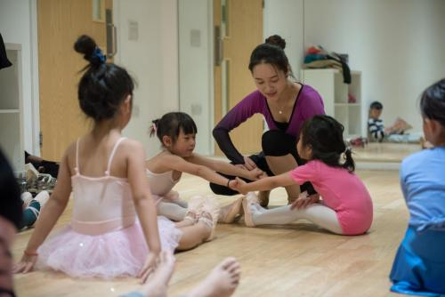 Kids Chinese dance school