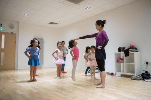 UK China Performing Arts Children dance class in Canada Water studio