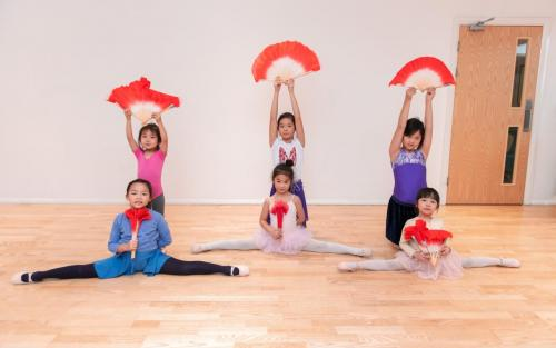Chinese children dance school 少儿中国舞蹈学校