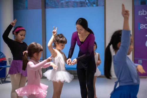 children dance training