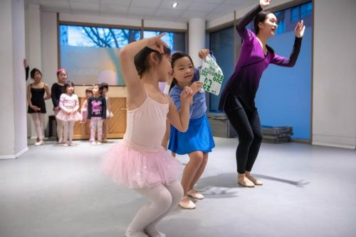 Chinese kids dance school nearby Canada Water