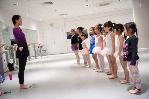 Chinese children dance school nearby Canada Water