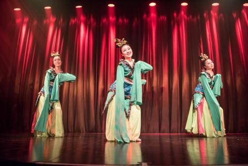 Chinese dance performance 中国舞表演