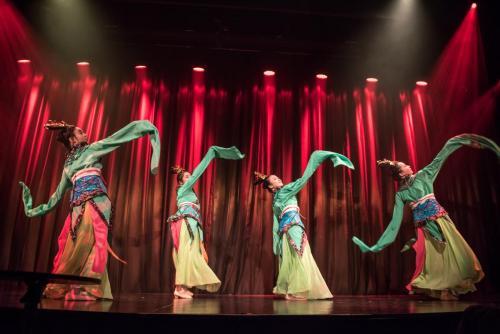 Chinese sleeves dance 中国袖舞