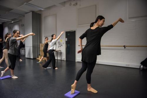 dance training 舞蹈训练