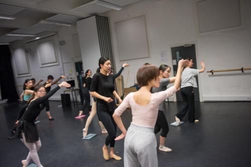 dance school 舞蹈学校