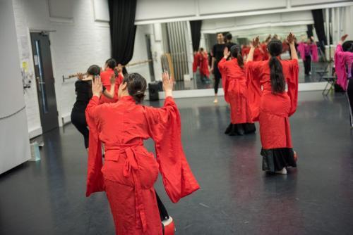 Chinese dance class 中国古典舞