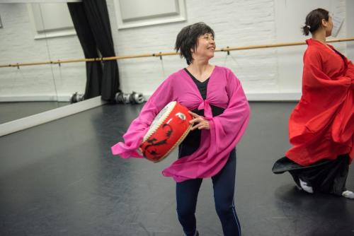 Chinese dance 汉唐鼓舞