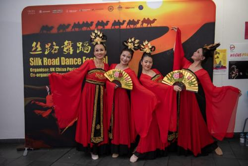 "2019 Silk Road Festival Chinese Ribbon Dance ""Flying Apsaras"""