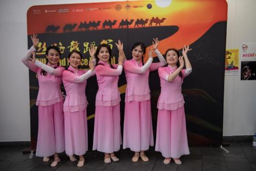 "2019 Silk Road Festival Chinese Ribbon Dance ""Flying Apsaras"""
