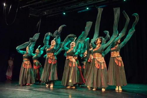 "2019 Silk Road Dance Festival Chinese sleeves dance ""Ta Chun """