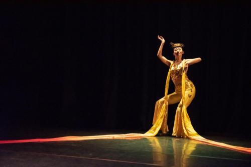 "2019 Silk Road Festival Dunhuang Dance ""Flying Apsaras"""