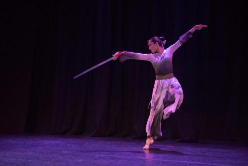 Chinese Sword Dance