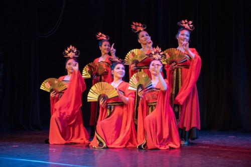 "2019 Silk Road Dance Festival Tang Dynasty dance ""Drunken Beauty"""