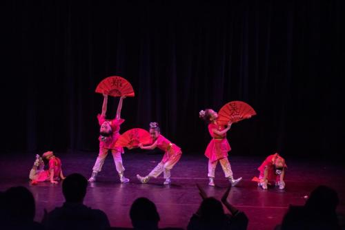 "2019 Silk Road Dance Festival Children dance""the book of Family name"""
