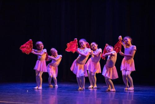 "2019 Silk Road Dance Festival Children dance""Window flower"""